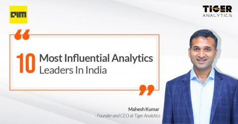 Mahesh Kumar in AIM's 10 Most Influential Analytics Leaders for 2020