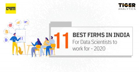 Tiger Analytics among Analytics India Magazine's Best Data Science Employers for 2020