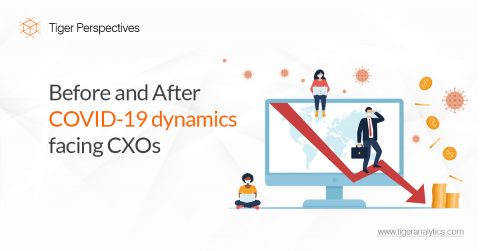 Before and After COVID-19 Dynamics Facing CXOs