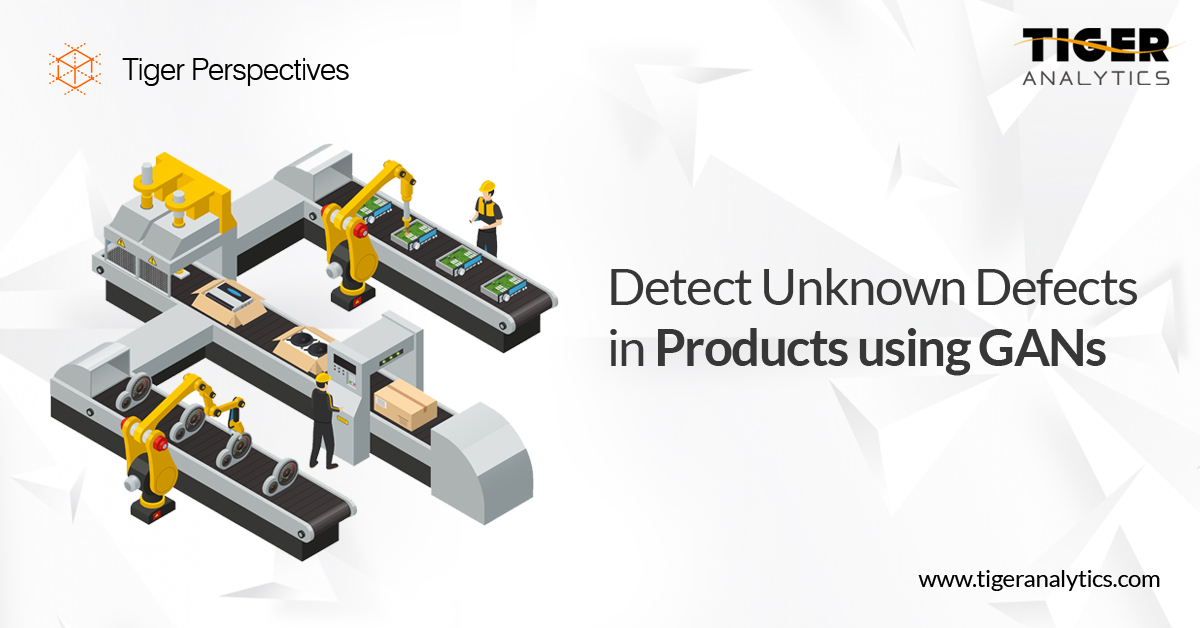 Detect Unknown Defects in Products Using GANs