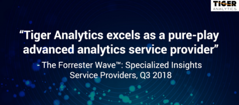 Forrester Recognizes Tiger Analytics as a Strong Performer in Insights Services