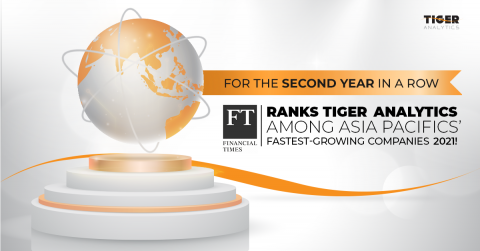 Tiger Analytics ranks on Financial Times Asia-Pacific High-Growth Companies for 2021