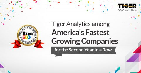 Tiger Analytics Named On Inc.5000's 2019 List Of Fastest Growing Companies in America