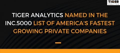 Tiger Analytics makes it to the 2018 Inc. 5000 List