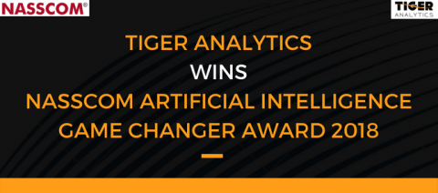 Tiger Analytics wins NASSCOM's AI Game Changer Award 2018