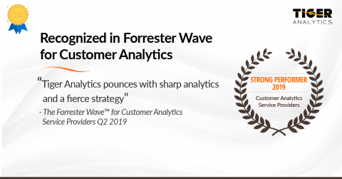 Forrester Recognizes Tiger Analytics as a Strong Performer in Customer Analytics